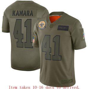 Saints #41 Alvin Kamara Limited Jersey Camo
